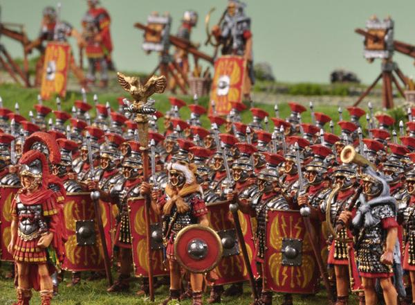 东西帝国军力的较量 秦帝国与古罗马谁更强