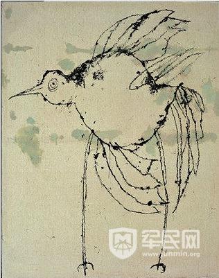 社会           叶永青认为自己近10年的写意花鸟,重点不在于画鸟图片