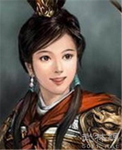 樊梨花手绘图
