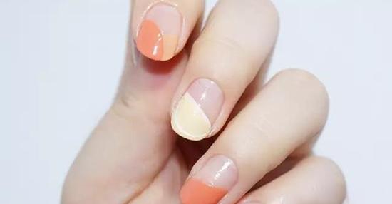 柚子法式美甲 美出新高度图片