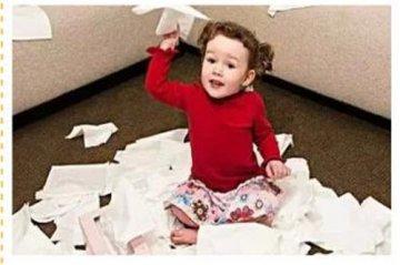 """宝宝扔东西是好事 教你如何应对家里的""""破坏王"""""""