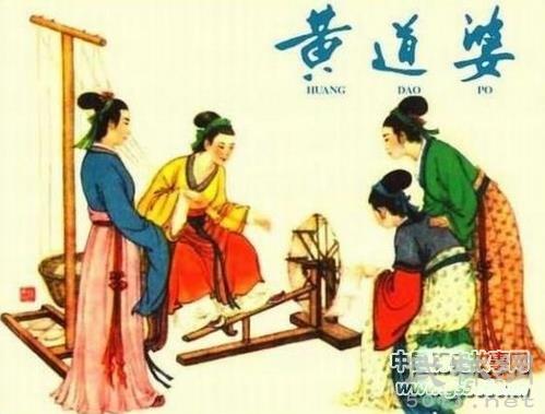 布业始祖黄道婆生平简介,论黄道婆的纺织技术
