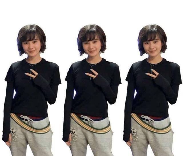 刘诗诗新发型成卷毛 网友:短发真的不适合她明明长发好看