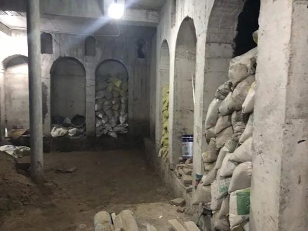 北京一老楼住户打洞5年 掏出120平方米地下空间