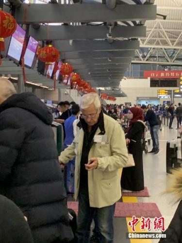 里皮现身广州白云机场正式告别中国 昔日弟子无一送行