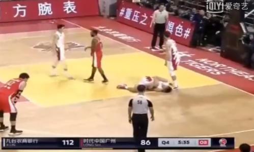 CBA吉林球员李安受伤严重原因始末 西热力江赛后不冷静举动遭网友吐槽