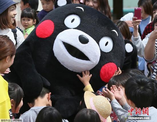 熊本熊无缘火炬手 才5岁还是个宝宝怕烧着自己