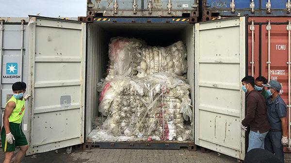 柬埔寨退还洋垃圾我们不是垃圾桶
