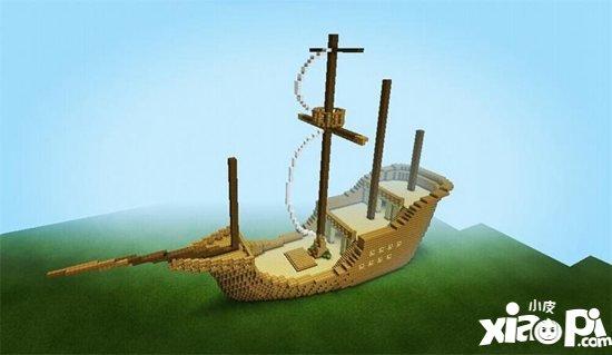 我的世界帆船制作教学 帆船怎么做