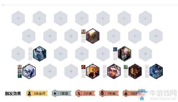 《云顶之弈》10.3版本刺客雷霆召唤劫阵容玩法介绍