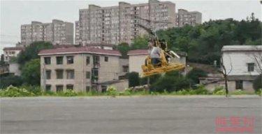 社会资讯_初中毕业的男子跨界自制直升机 引来大家的关注|初中|毕业-社会 ...