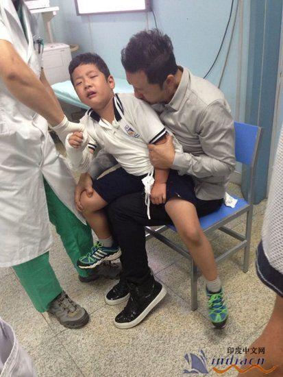 郭涛儿子郭子睿 小石头 怎么受伤的 受伤情况 郭子睿个人